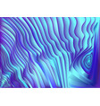 abstract blue wavy stripes background vector image