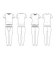 Blank clothing templates