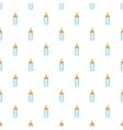 Bottle feeding pattern cartoon style vector image vector image