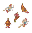 set of fairytale characters vector image