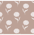 simple brown pattern vector image vector image