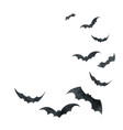 watercolor happy halloween card isolated on vector image vector image