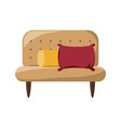 couch icon image vector image vector image