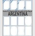 flag v13 argentina