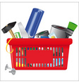 icon of shopping cart vector image vector image