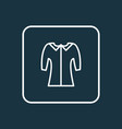 mid sleeve icon line symbol premium quality vector image vector image