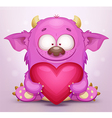 Monster in love vector | Price: 1 Credit (USD $1)