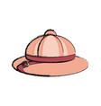 safari hat vector image