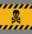 warning symbol safety danger icon vector image
