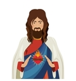young jesus design vector image