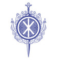 celtic design celtic sword and celtic vector image vector image