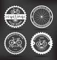 Cycling Badges vector image vector image