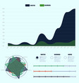 flatten covid-19 pandemic infographic report vector image