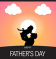 happy fathers day template free vector image vector image