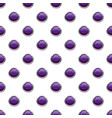 purple button pattern vector image vector image