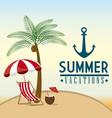 Summer design vector image vector image
