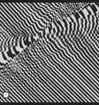 waveform background black and white sound waves vector image