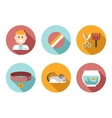 Web icon set Pet Vet Pet Shop vector image