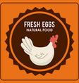 eggs design vector image