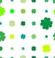 shamrock sparse pattern vector image