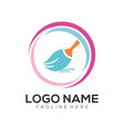 clean and maintenance logo icon design vector image
