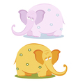 Funny pink elephants