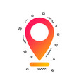 internet mark icon navigation pointer symbol vector image