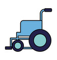 medical wheelchair equipment vector image vector image