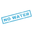 No Water Rubber Stamp vector image vector image