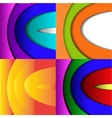 set of elegant abstract background with place for vector image