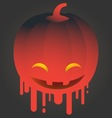 Holidays Happy Halloween icon vector image vector image