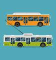 Public Transport Icon Set vector image vector image