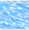 Blue sparkling waves pattern vector image vector image
