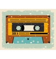 cassette tape isolated icon design vector image vector image