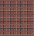 chocolate blocks pattern vector image vector image