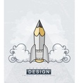 Creative design concept with vector image vector image