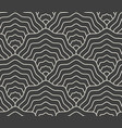 linear scales seamless pattern fish tail mermaid vector image