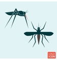 Mosquito icon isolated vector image vector image