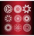 set of vintage design elements2 vector image vector image