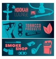 Smoking Banner Set vector image vector image