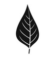 apple tree leaf icon simple style vector image vector image
