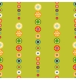 Bright circles seamless baby background vector image vector image