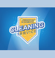 cleaning service vector image