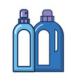 disinfectant plastic gallon bottle product flat vector image vector image