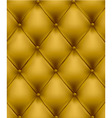 genuine leather yellow vector image vector image