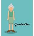 grandmother avatar character member vector image
