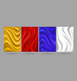 smooth cloth backdrops vector image