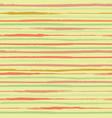 vibrant horizontal painterly orange and green vector image vector image