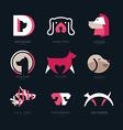 Dog Logo vector image vector image