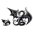 Fantasy dragon vector image